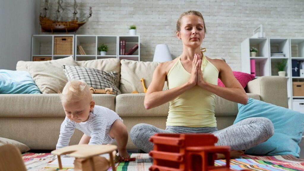 mother meditate